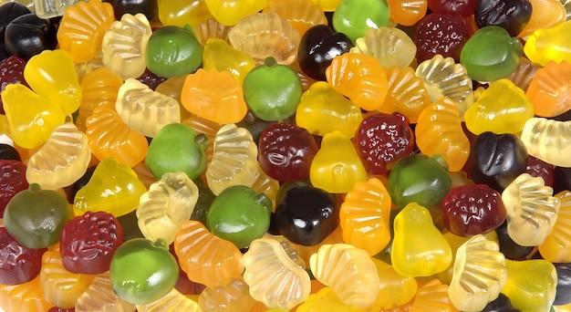 Doces gummy fuit