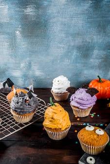 Doces infantis engraçados para o halloween