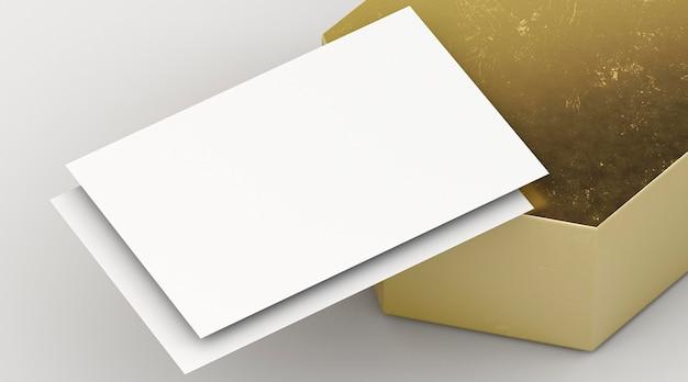 Documentos em branco de papelaria corporativa em branco