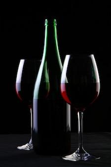 Dois copos de vinho