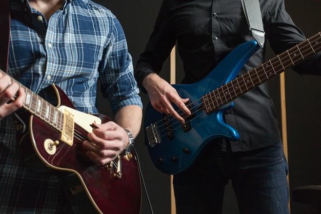 Dois guitarristas