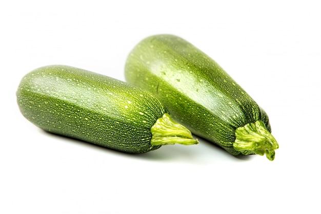 Dois, vegetal, abobrinha