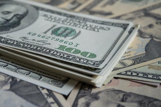 Dólar billie. fundo do dinheiro