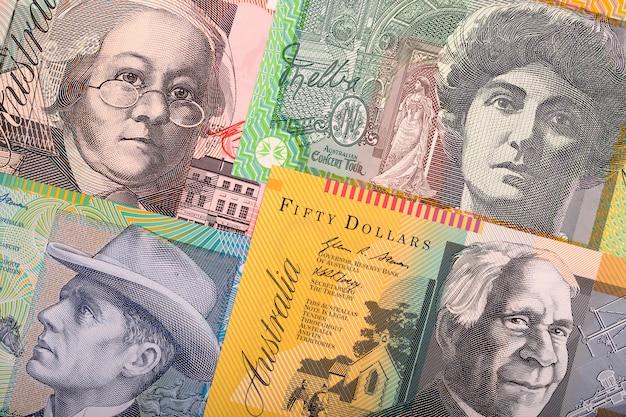 Dólares australianos, um plano de negócios
