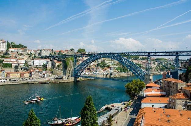 Dom, luis, ponte, em, porto, portugal