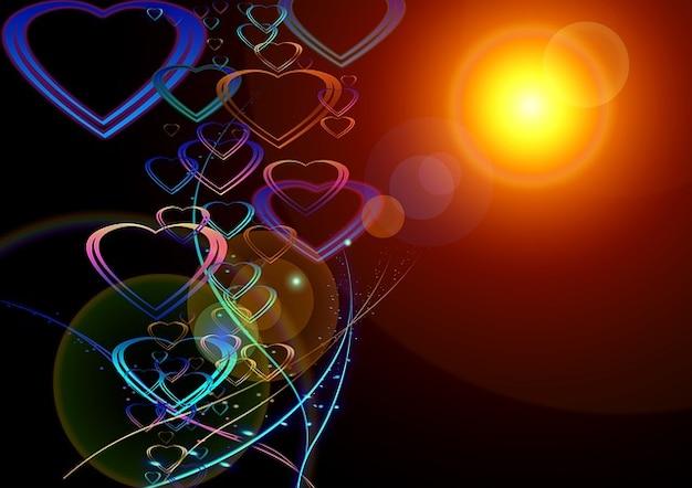 Dom nobre coração amar cartão bela