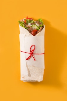 Doner kebab ou sanduíche shawarma