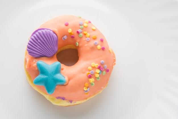 Donut em um prato, donut