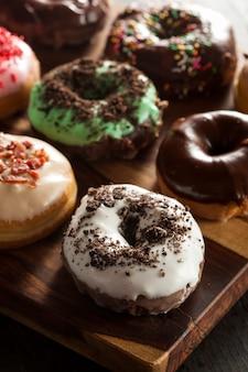 Donuts com chocolate