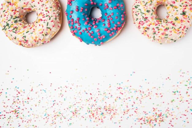 Donuts com granulado