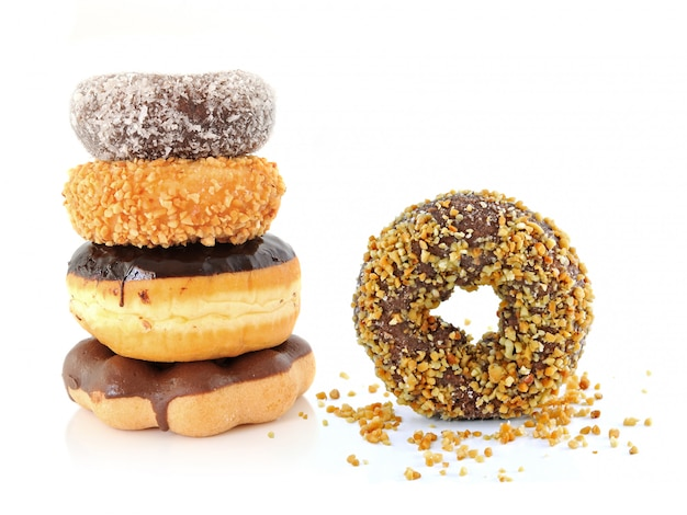 Donuts isolados