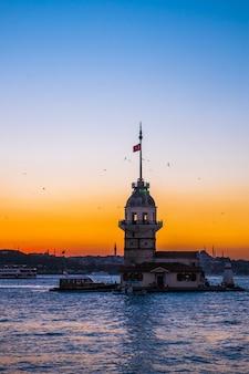 Donzela, torre, istambul