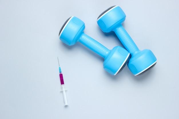 Doping no esporte. esteróide anabolizante.
