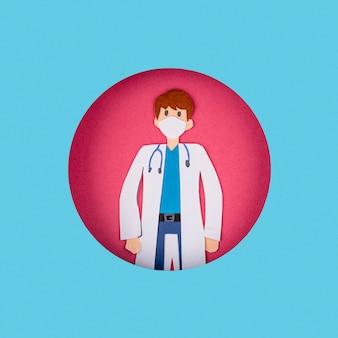 Doutor feito de papel