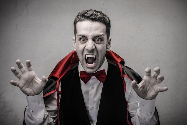 Dracula perigoso assustador