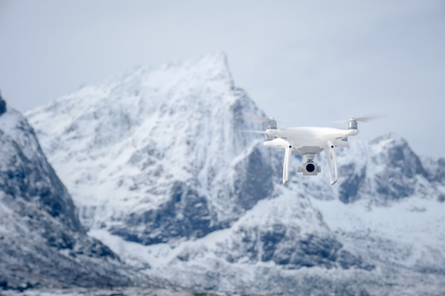 Drone com câmera digital