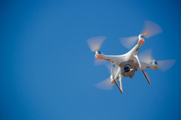 Drone no céu