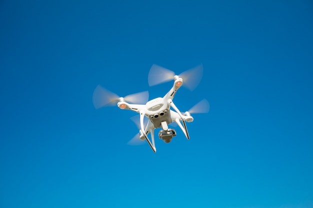 Drones no céu