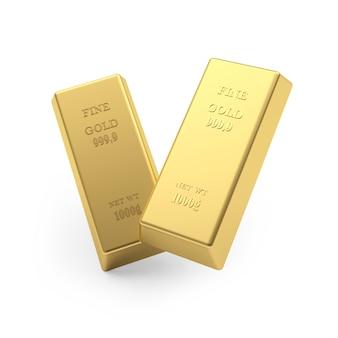 Duas barras de ouro
