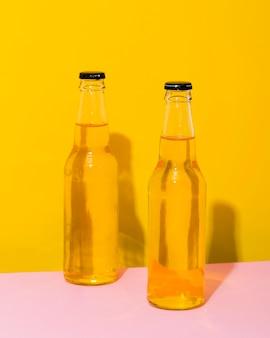 Duas garrafa de cerveja