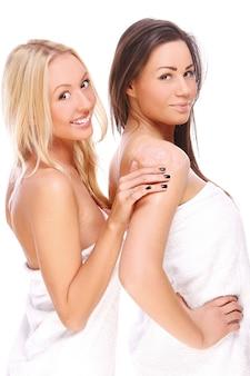 Duas lindas garotas
