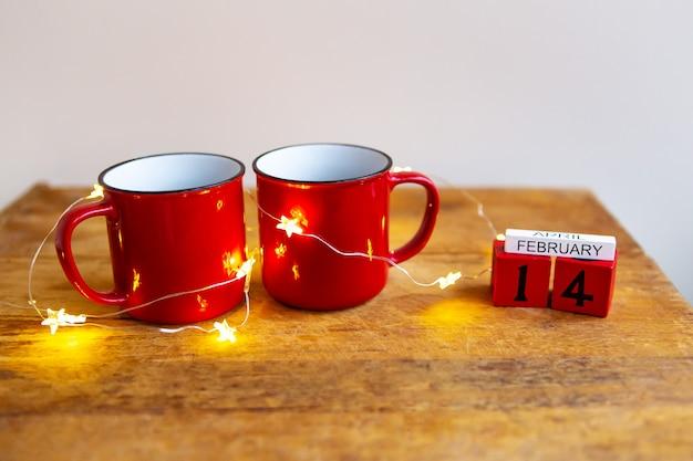 Duas xícaras de café