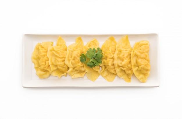 Dumplings de camarão cozidos com vapor dim sum