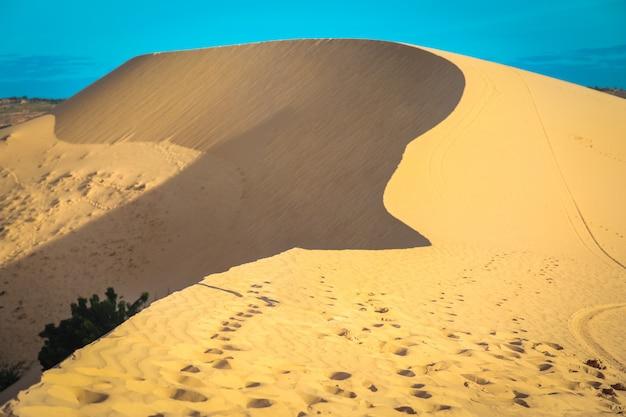 Duna de areia em mui ne, vietname