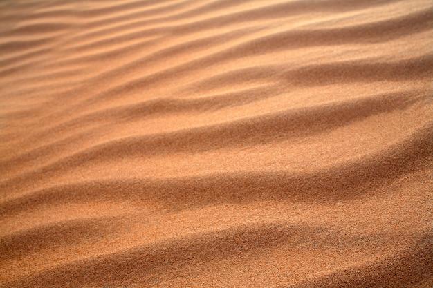 Duna de areia textura fundo desfocado