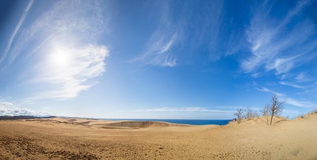 Dunas de areia de tottori