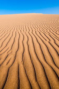 Dunas do deserto de huacachina