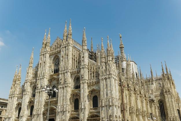 Duomo di milan na itália