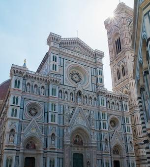 Duomo santa maria del fiore na piazzale michelangelo em florença, toscana, itália