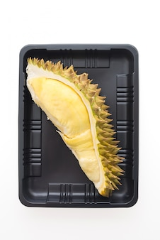 Durian, fruta, isolado