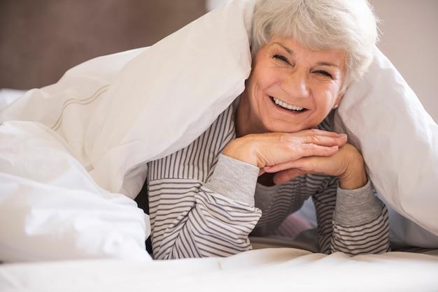 É a cama mais confortável!