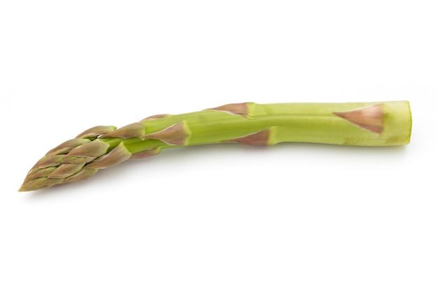Eco aspargo em branco
