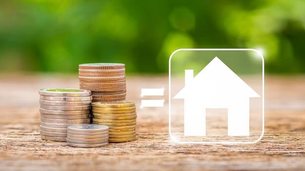 Economize dinheiro para comprar uma nova casa.