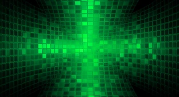 Ecrã de cinema led para apresentação de filmes. tecnologia abstrata clara