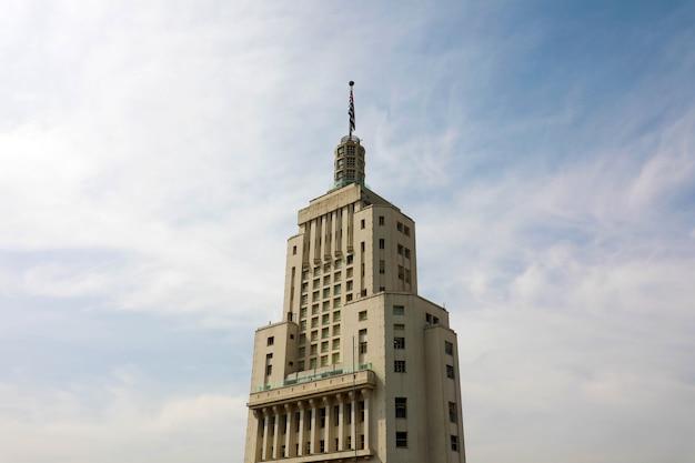 Edifício altino arantes ou edifício banespa em são paulo, brasil
