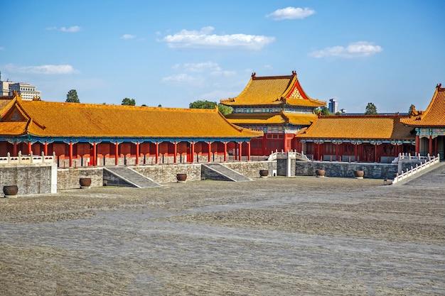 Edifício chinês tradicional