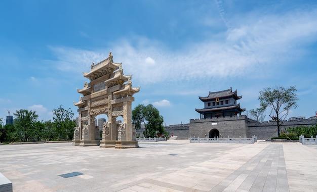 Edifício da cidade antiga de qingdao jimo