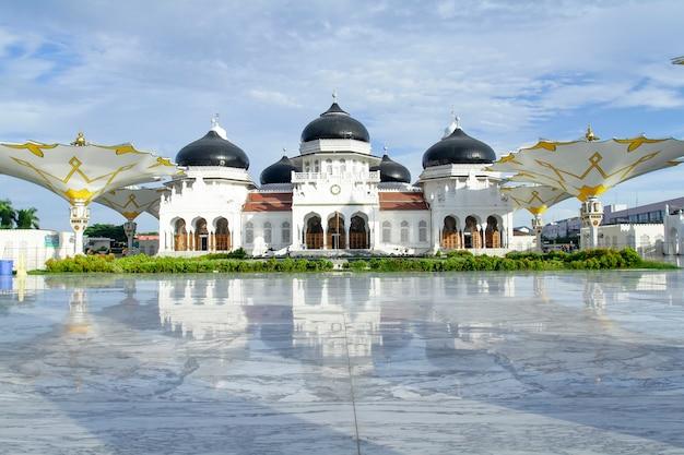 Edifício da grande mesquita de baiturrahman