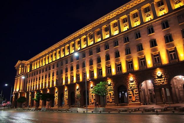 Edifício da presidência, sofia, bulgária