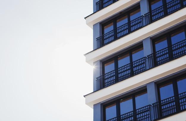 Edifício de apartamento de luxo