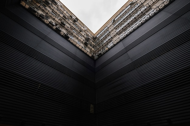 Edifício de arquitetura moderna