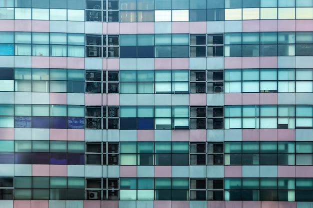 Edifício edifício de vidro na cidade