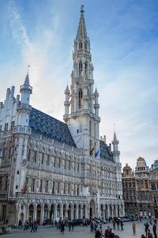 Edifício famoso: maison du roi em bruxelas