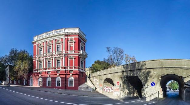 Edifício histórico pommer em odessa, ucrânia