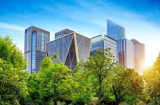 Edifício moderno em hangzhou