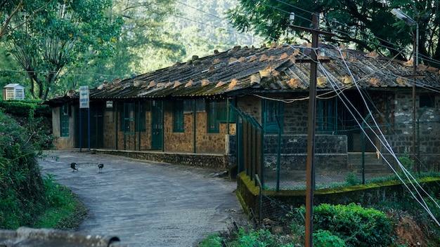 Edifício na western ghats mountain